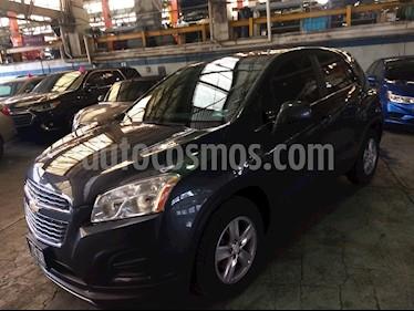 Foto venta Auto usado Chevrolet Trax LT (2015) color Gris Oxford precio $180,000