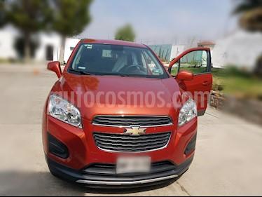 Foto venta Auto usado Chevrolet Trax LT (2015) color Naranja Metalico precio $240,000
