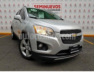 Foto Chevrolet Trax LTZ Turbo usado (2014) color Plata Brillante precio $204,000