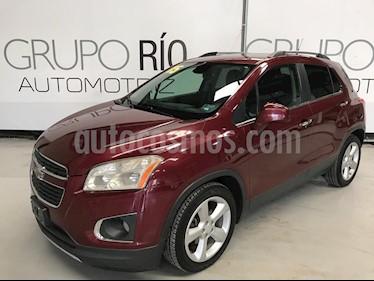 Foto venta Auto usado Chevrolet Trax LTZ Turbo (2015) color Rojo Tinto precio $199,000