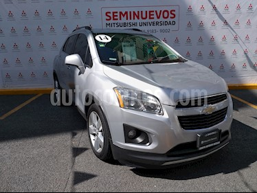 Foto venta Auto usado Chevrolet Trax LTZ Turbo (2014) color Plata Brillante precio $199,000