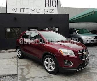 Foto venta Auto usado Chevrolet Trax LTZ Turbo (2015) color Rojo Tinto precio $215,000
