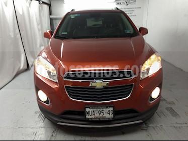 Foto Chevrolet Trax LTZ usado (2015) color Naranja Metalico precio $215,000