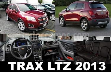 Foto venta Auto usado Chevrolet Trax LTZ (2013) color Rojo Tinto precio $188,000