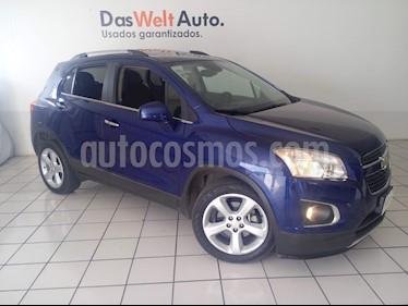 Foto venta Auto usado Chevrolet Trax LTZ (2016) color Azul Oscuro precio $264,900