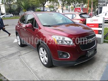 Foto venta Auto usado Chevrolet Trax LTZ (2015) color Rojo Tinto precio $205,000