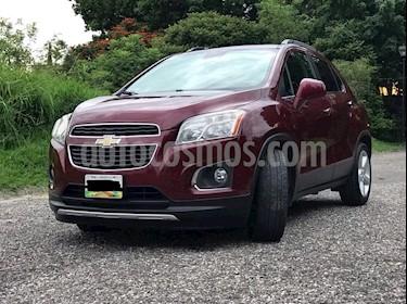 Chevrolet Trax LTZ usado (2015) color Rojo Tinto precio $190,000