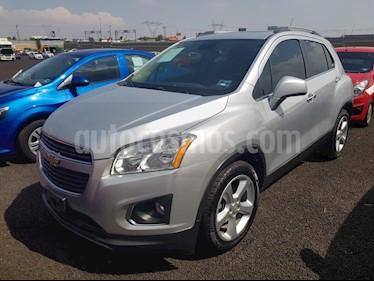 Foto venta Auto usado Chevrolet Trax LTZ (2015) color Plata Brillante precio $195,000