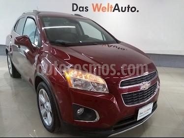 Foto venta Auto usado Chevrolet Trax LTZ (2015) color Rojo precio $185,000