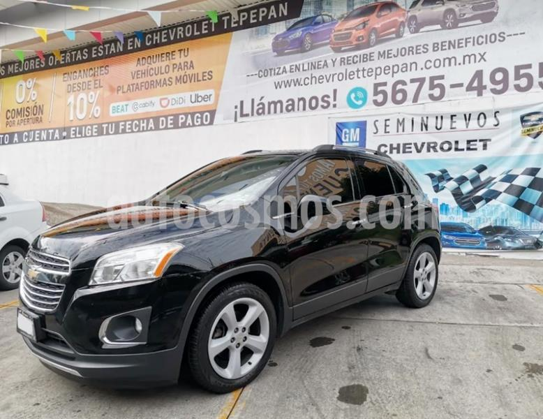 Chevrolet Trax LTZ usado (2016) color Negro precio $223,000