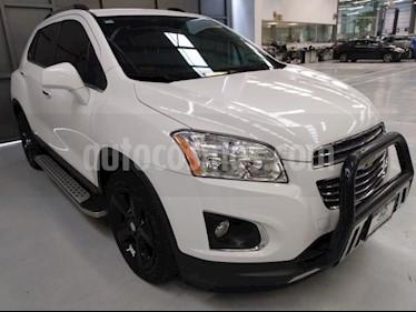 Chevrolet Trax 5P LTZ 1.8L TA PIEL QC F. NIEBLA RA-18 usado (2016) color Blanco precio $219,900