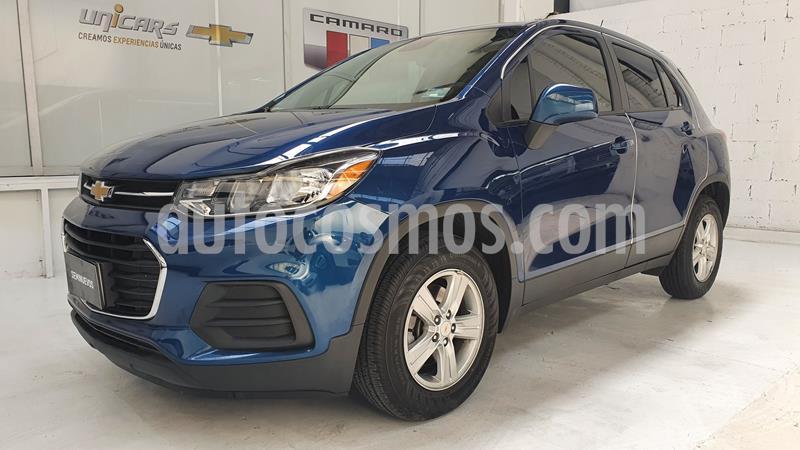 Chevrolet Trax LS usado (2020) color Azul precio $289,000
