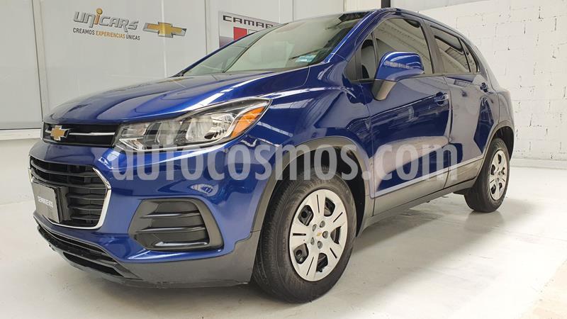 Chevrolet Trax LS usado (2017) color Azul precio $190,000