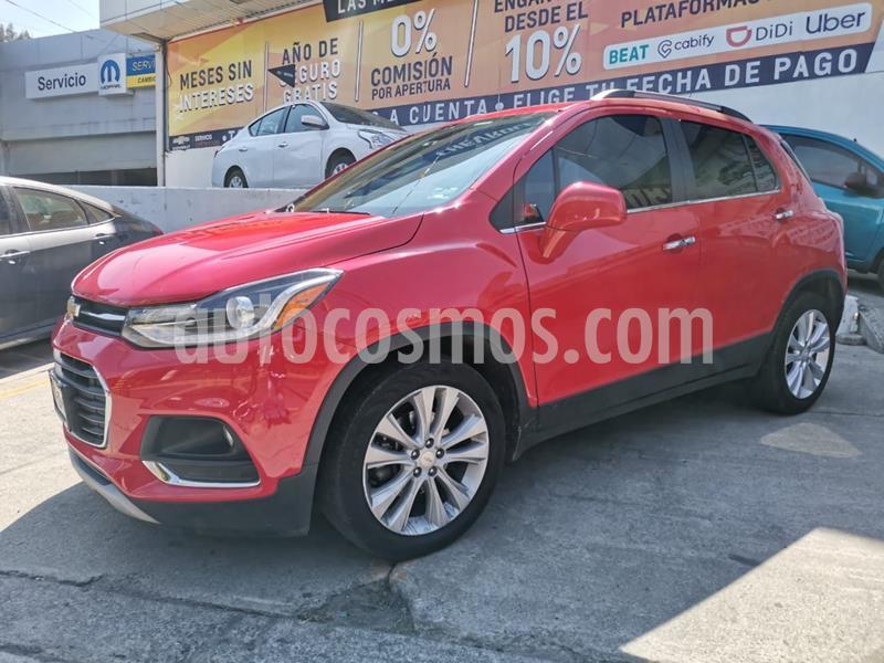Chevrolet Trax Premier Aut usado (2017) color Rojo precio $245,000