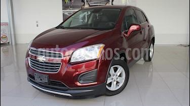 Chevrolet Trax LT Aut usado (2016) color Rojo Tinto precio $185,000
