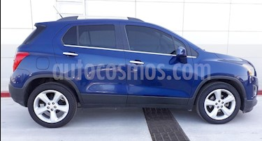 Chevrolet Trax LTZ usado (2016) color Azul precio $235,000