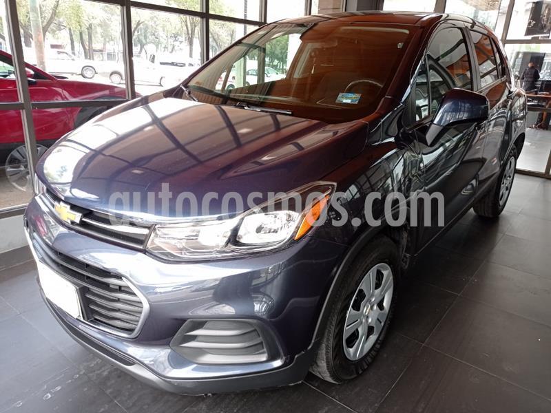 Chevrolet Trax LS usado (2018) color Azul Oscuro precio $220,000