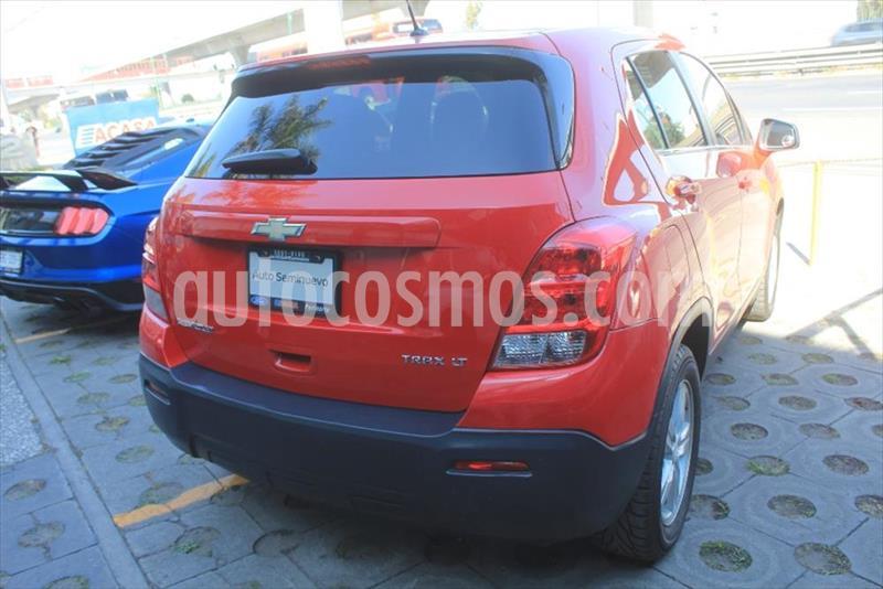 Chevrolet Trax LT usado (2015) color Rojo precio $185,000
