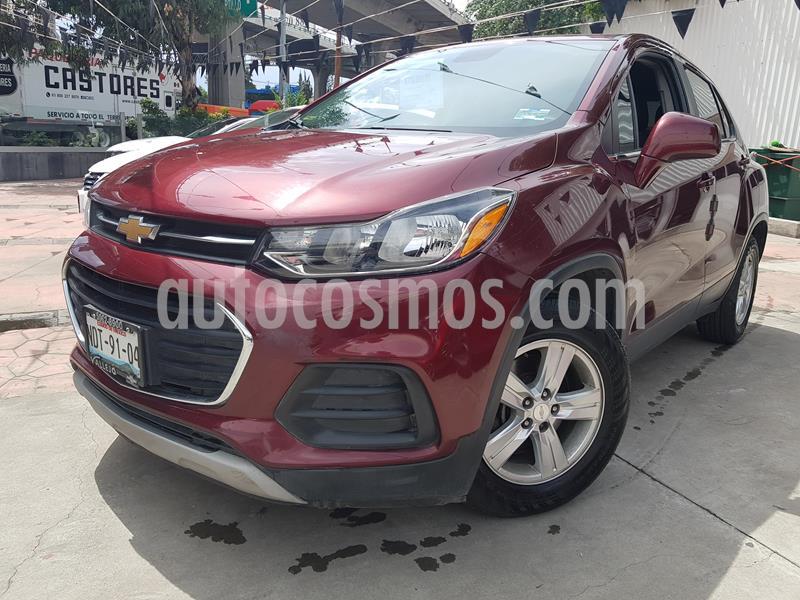 Chevrolet Trax LT usado (2017) color Rojo precio $205,000