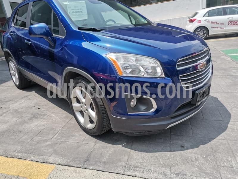Chevrolet Trax LTZ usado (2016) color Azul precio $210,000