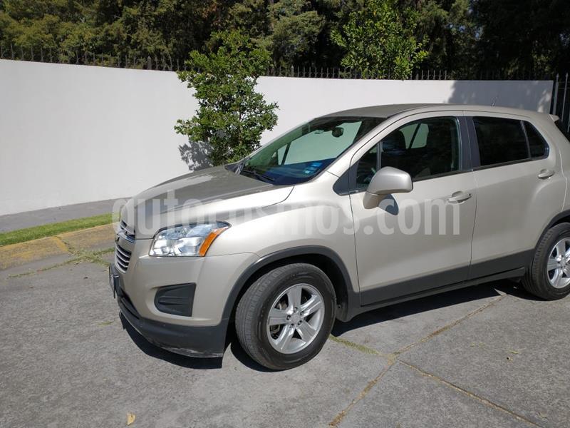 Chevrolet Trax LT Aut usado (2016) color Bronce precio $185,000