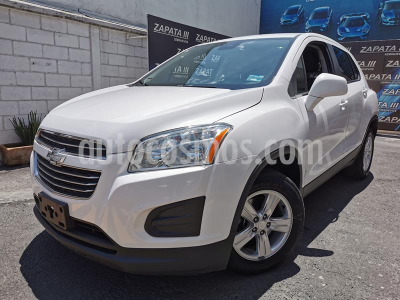 Chevrolet Trax LT Aut usado (2016) color Blanco Galaxia precio $195,000