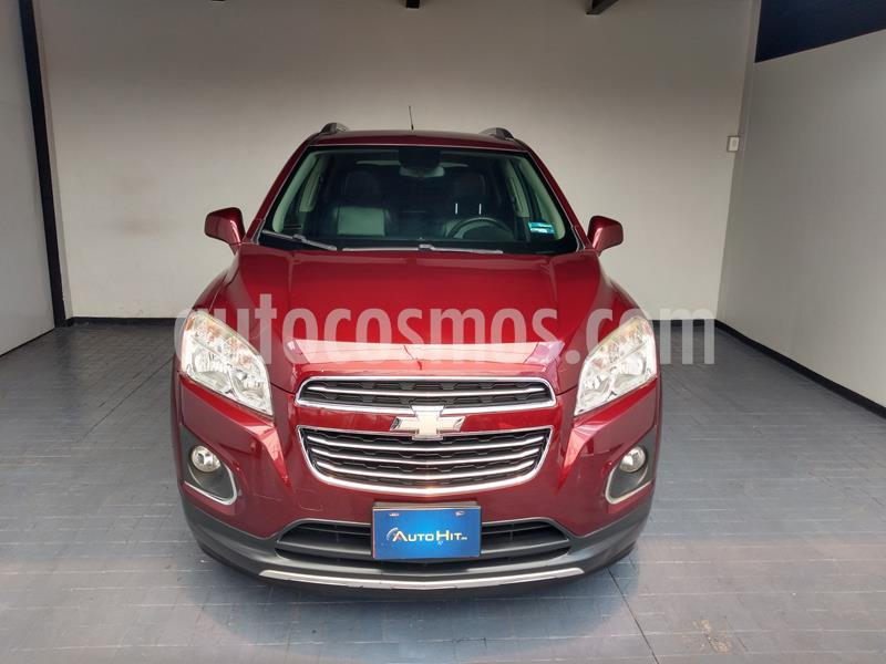 Chevrolet Trax LTZ usado (2016) color Rojo Tinto precio $209,000
