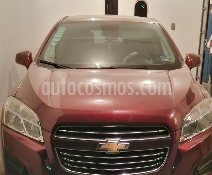 Chevrolet Trax LS usado (2016) color Rojo Tinto precio $165,000