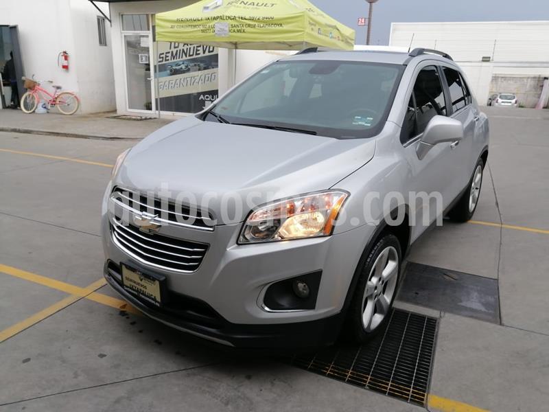 Chevrolet Trax LT Aut usado (2016) color Plata Brillante precio $230,000