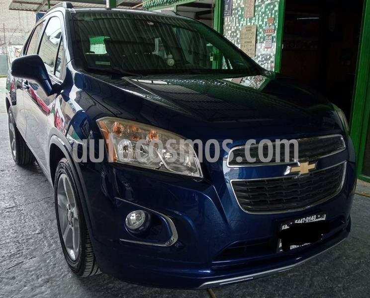 Chevrolet Trax LTZ usado (2015) color Azul Oscuro precio $185,000