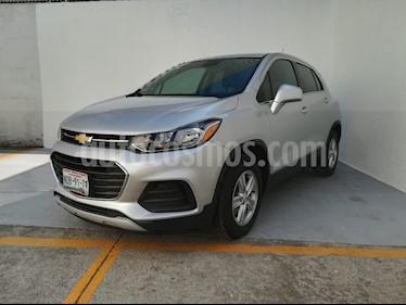 Chevrolet Trax LT usado (2018) color Plata Brillante precio $257,000