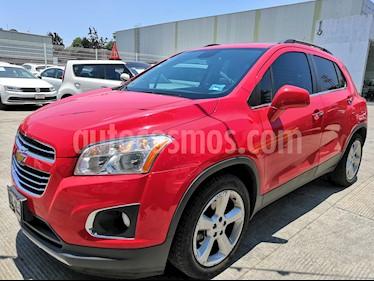 Chevrolet Trax Premier Aut usado (2018) color Rojo Victoria precio $240,000