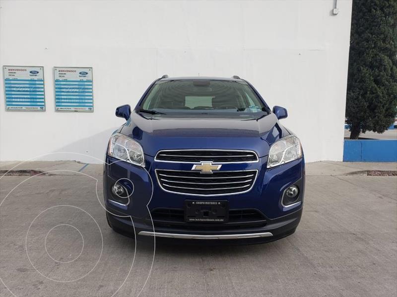 Chevrolet Trax LTZ L4/1.8 AUT usado (2016) color Azul Electrico precio $250,000