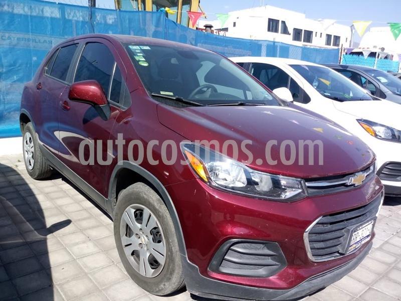 Chevrolet Trax LS usado (2017) color Rojo precio $225,000