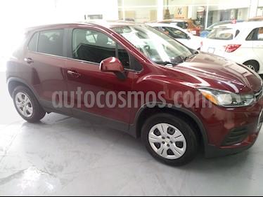 Chevrolet Trax LS usado (2017) color Rojo Tinto precio $210,000