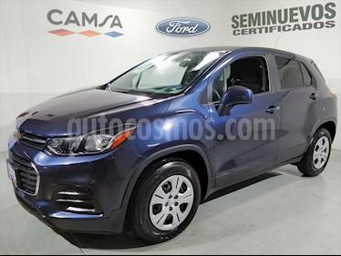 Chevrolet Trax LS MANUAL usado (2018) color Azul Marino precio $225,900