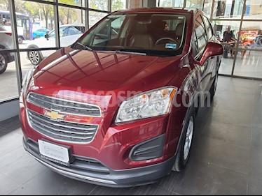 Chevrolet Trax LT Aut usado (2016) color Rojo Tinto precio $189,000