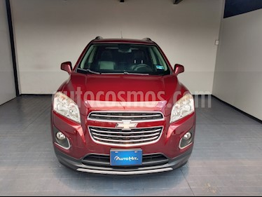 Chevrolet Trax LTZ usado (2016) color Rojo Tinto precio $214,000
