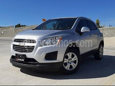 Chevrolet Trax LS usado (2016) color Plata Brillante precio $198,000