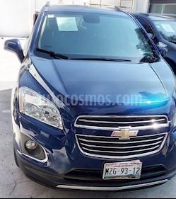 Chevrolet Trax LTZ usado (2016) color Azul precio $232,000