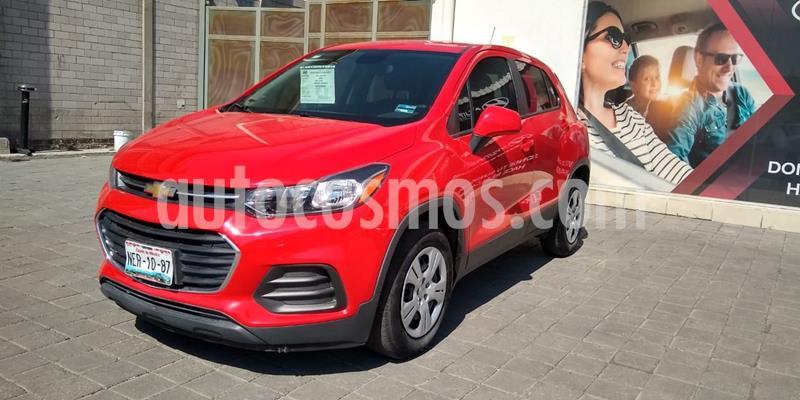 Chevrolet Trax LS usado (2017) color Rojo precio $197,500