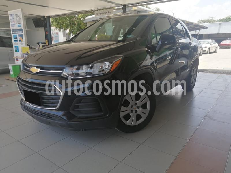 Chevrolet Trax LS usado (2017) color Negro precio $205,000