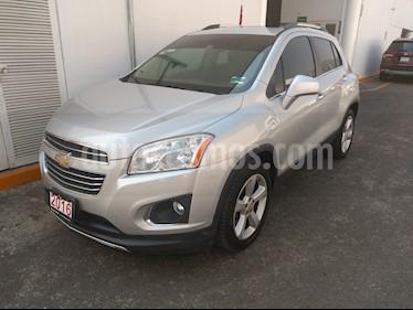 Chevrolet Trax LTZ usado (2014) color Plata Brillante precio $177,000