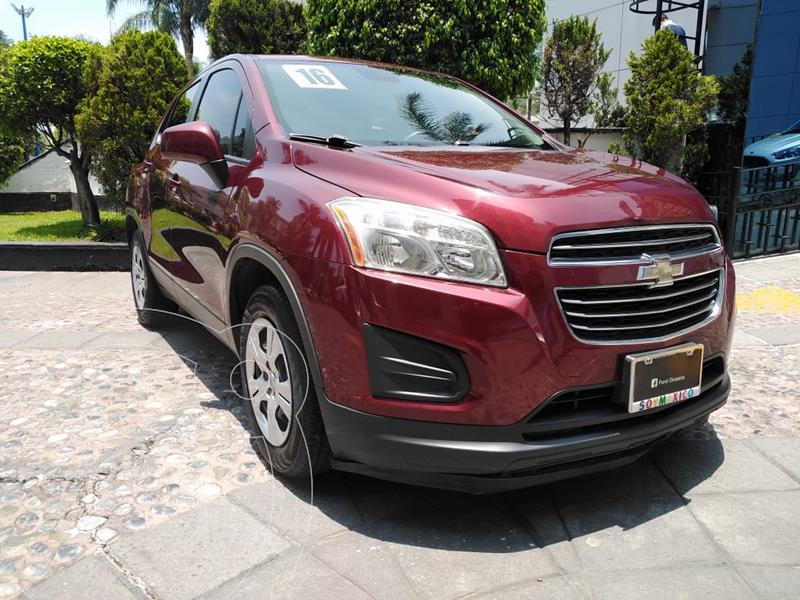 Foto Chevrolet Trax LS usado (2016) color Rojo financiado en mensualidades(enganche $46,250)