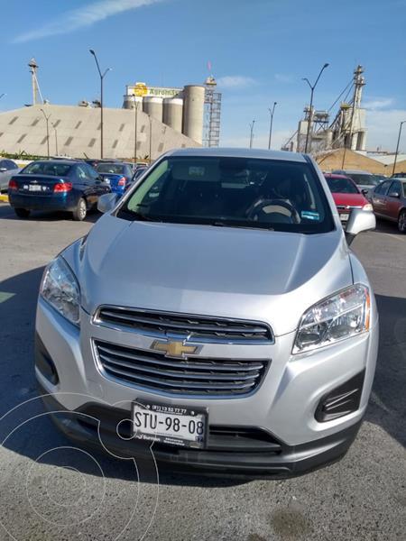 Chevrolet Trax LS usado (2016) color Gris Oxford precio $200,000