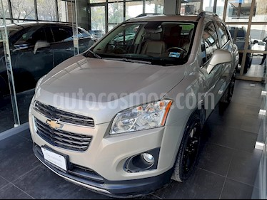 Chevrolet Trax LTZ usado (2016) color Champagne precio $225,000