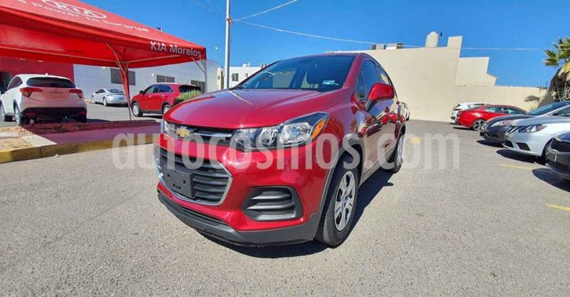 Chevrolet Trax LS usado (2018) color Rojo precio $215,000