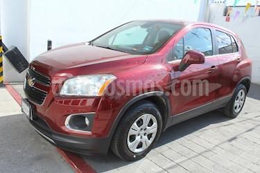 Chevrolet Trax LS usado (2013) color Rojo Tinto precio $129,000