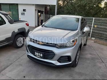 Chevrolet Trax 5p LS L4/1.8 Man usado (2018) color Plata precio $235,000
