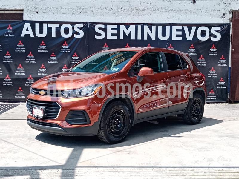 Chevrolet Trax LS usado (2019) color Naranja Metalico precio $247,000
